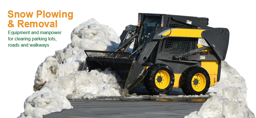 commercial snow removal prices edmonton & area - parking lot snow removal