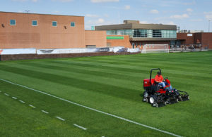 edmonton commercial grounds maintenance - school football field